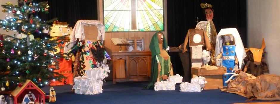 Nativity figures original