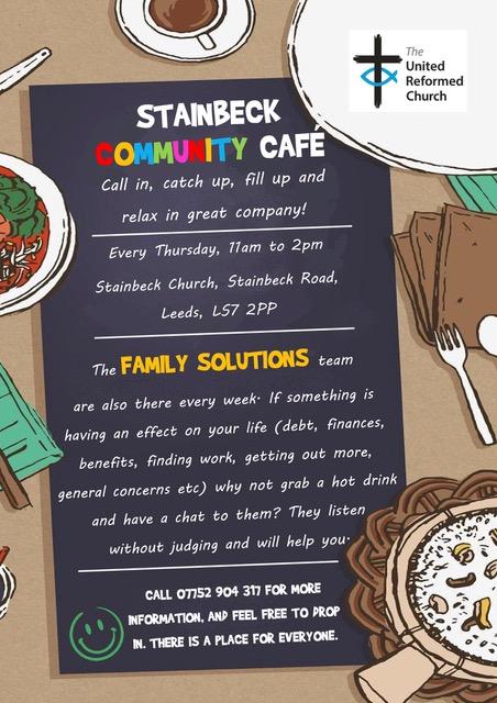Leaflet: Community Café