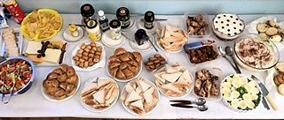 """A selection of the """"English"""" supper"""