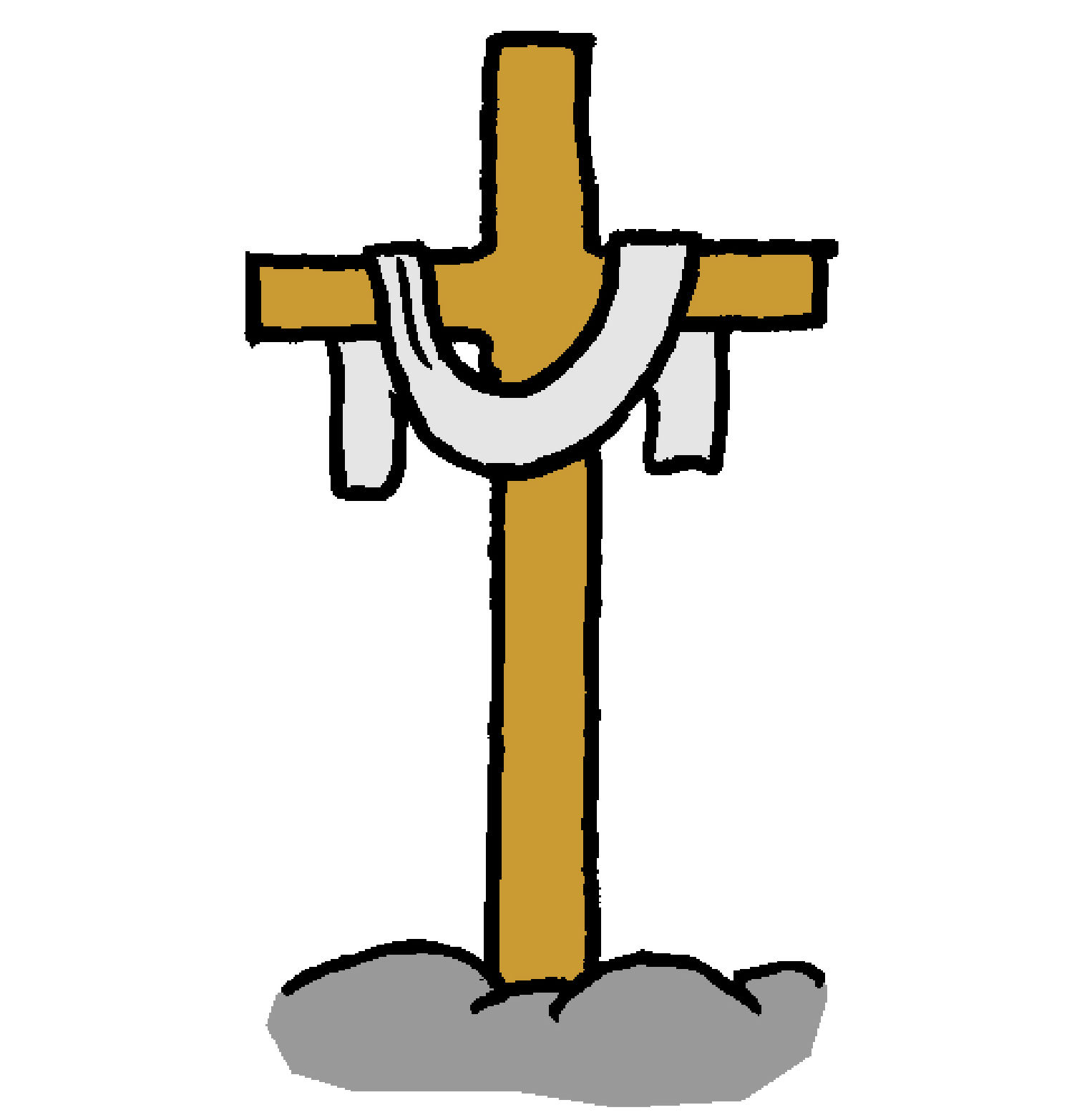 Cross with stole